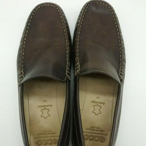 Ecco Moc Toe Slip On Driving Loafer Shoes 44 US 10